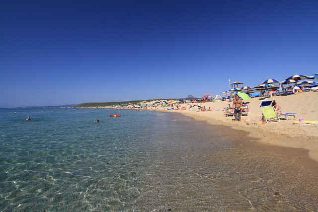 Spiaggia Piscinas on Sardinia's Costa Verde was a real treat. Incredible visibility.