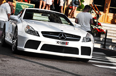 SL65 AMG Black Series (FB. Photography) Tags: auto street red 2 summer sun white black france green sport night photoshop happy for louis spider nice fantastic nikon europe flickr paradise shot nightshot no 4 obey like spot cte voiture casino montecarlo monaco fave filter crew series nikkor weeks polarizer supercar vuitton nizza lv sportscar amg sl65 dazure 67mm hollydays carspotting spotter 2011 18105mm d5000 iphoneonly