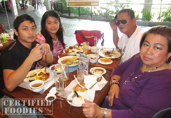 Our family now enjoy dining out more than before - CertifiedFoodies.com