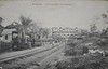 Spoorwegstation Koffiedjompo (Stichting Surinaams Museum) Tags: spoor suriname paramaribo treinstation spoorbaan koffiedjompe