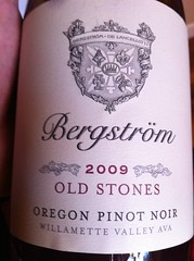 2009 Bergström Old Stones Pinot Noir