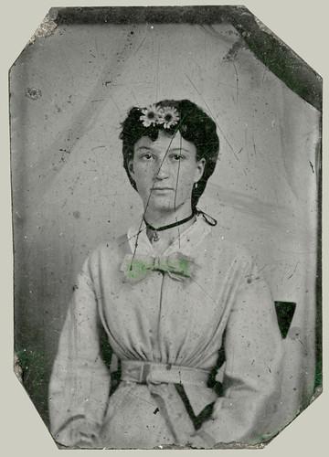 Woman, tintype