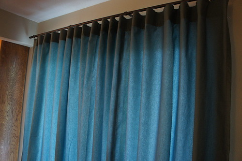 Drapes made from County Fair Fabric