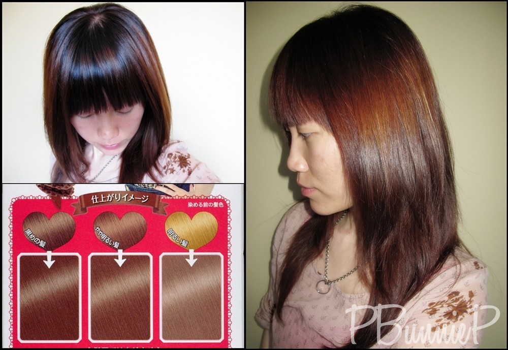 Palty foaming haircolour--colour swatch