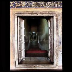 Towards Eternity (designldg) Tags: travel india heritage history muslim islam tomb culture atmosphere agra symmetry soul eternity scripture akbar inscription sikandra mughal uttarpradesh  indiasong
