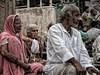 India Views (Gusulabu) Tags: travel portrait india canon retrato textures varanasi hindu dragan oldmen benares ancianos draganizer dblringexcellence