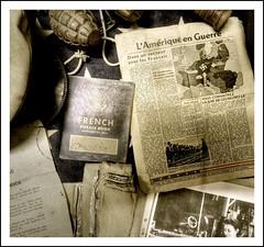 D-Day museum Omaha beach ( 3 ) (scrabble.) Tags: france museum inmemory war military canadian worldwarii american soldiers british normandie combat normandy dday invasion soldaten usarmy secondworldwar oorlog omahabeach tweedewereldoorlog ddaylanding normandylanding viervillesurmer 6thjune1944 invasionofnormandy herinneren