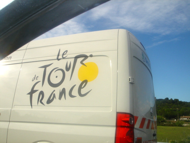The_Tour_de_France_van