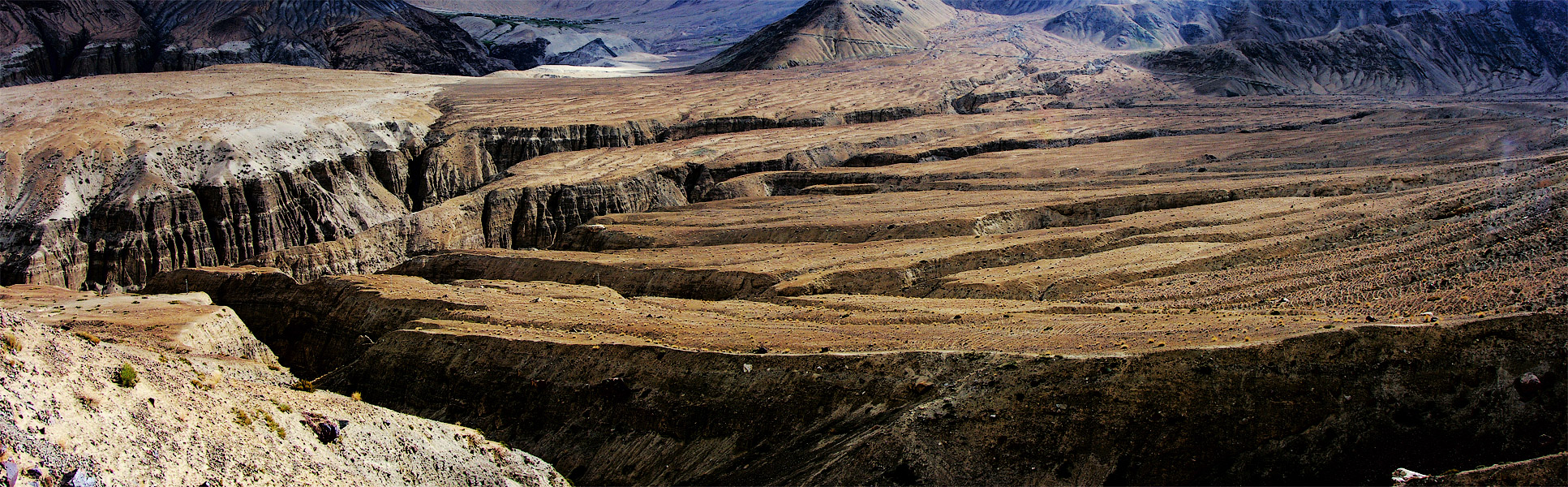 Долина Нубра. Ладакх, Индия. Панорамы Гималаев