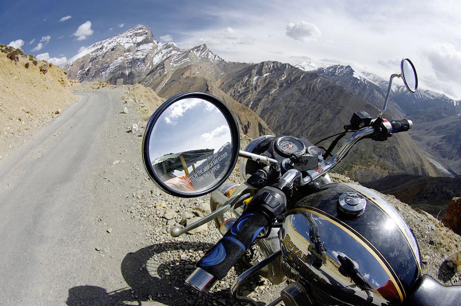 . Мототрип по Гималаям - дорога Манали-Ле