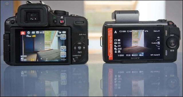 Panasonic Lumix G3 Olympus 12mm f/2 Sony NEX-C3 16mm f/2.8