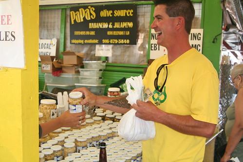 Jonathan at the Market