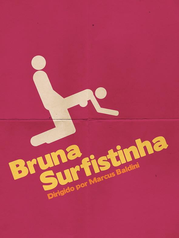 Populares Cartazes minimalistas de filmes brasileiros | GETRO.COM.BR HE07