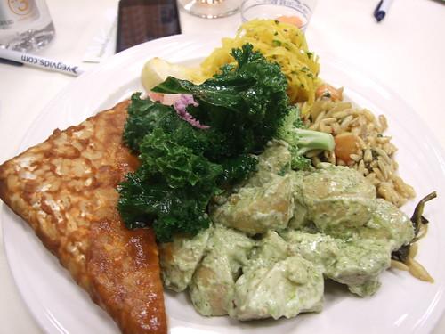 Lunch at Vida Vegan Con