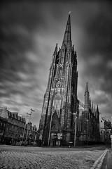 The Hub (ldfoto) Tags: longexposure clouds scotland edinburgh cityscape cobbles thehub movingclouds ndfilter edinburghskyline 110nd edinburghlandmark lorenzodalberto