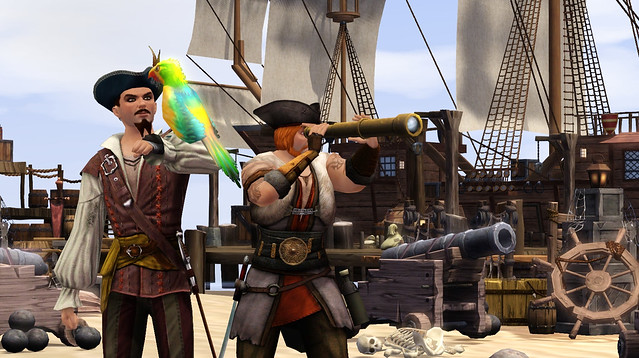 The Sims Medieval: Pirates and Nobles Parrot