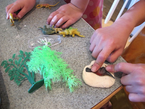 "Making ""Dino Fossils"" #5"