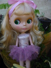 I think this Vintage Skipper Tutu is just made for her delicate beauty!!
