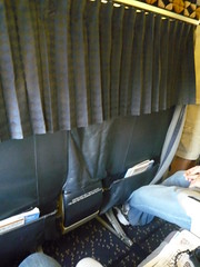 First Class Divider on Alaska 737-700