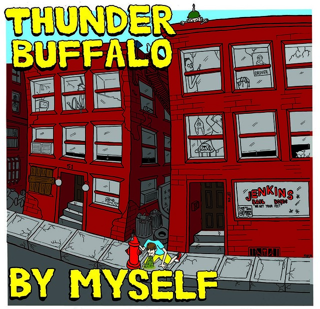 """By Myself"" by Thunder Buffalo record art"