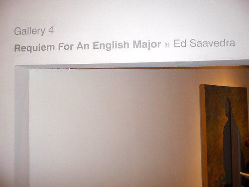 """Requiem for an English Major"" (entrance) by Ed Saavedra"