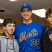 Chris Capuano with Tuesday's Children