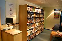 La biblioteca por dentro. Prensa