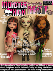 Monster High Magazine (Mariko&Susie) Tags: girls monster werewolf magazine dawn for dance high wolf doll vampire dracula frankie frankenstein cover stein mattel the ghouls clawdeen monsterettes marikosusie draculaura