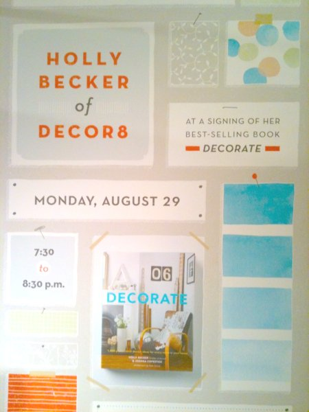 Decorate Event Sign at Anthropologie Philly