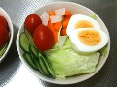 朝食サラダ(2011/9/5)