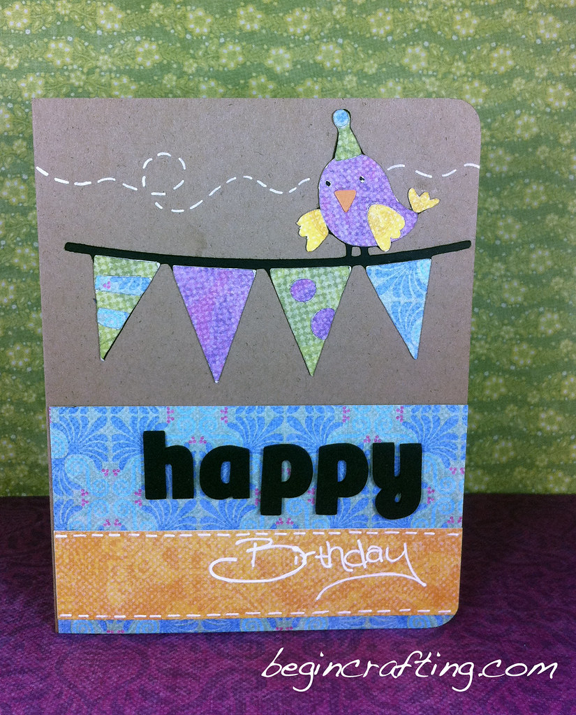 Happy Birthday Banner Card
