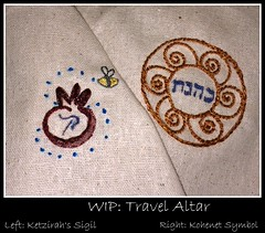 WIP: travel altar