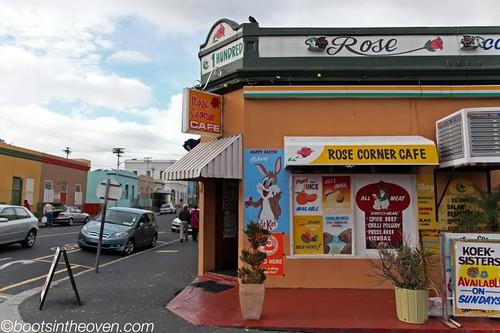Colorful corner store in the Bo-Kaap