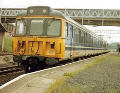 Norton Bridge, June 1990, 310107 (elkemasa) Tags: emu 1990 nortonbridge class310