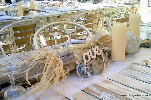 El Chiringuito at Cala Gracioneta, Ibiza wedding venue