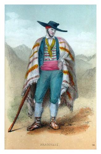001-Aragones-Costumes pyrénéens-1860
