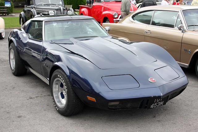1992 chevrolet corvette stingray brooklands museum weybridge surrey uk cars autos classic veteran vintage 1974
