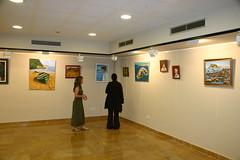 Exposición en lobiano de cuadros
