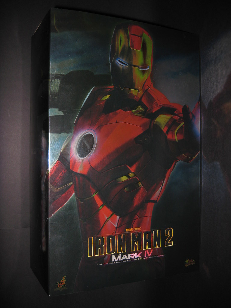 Hot Toys Iron Man 2 - Iron Man Mark IV 4