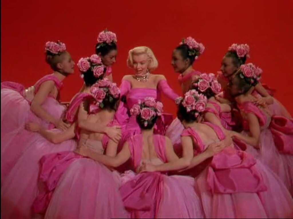 gentlemen prefer blondes.