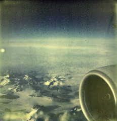 Somewhere Over Greenland (tobysx70) Tags: toby snow mountains color slr london window plane project airplane polaroid flying dallas airport texas view heathrow tx seat over jet engine first dallasfortworth aeroplane international tip american shade greenland dfw boeing flush hancock airlines americanairlines somewhere 777 capped slr680 ff aa lhr 680 windowseat impossible 4j px colorshade theimpossibleproject px680 680ff tobyhancock impossaroid