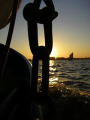 Sail boat (Luuk de Vries) Tags: sunset sailboat sailing