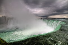 Cloud Generator, Niagara Falls, NY - HDR (virt_) Tags: morning cloud mist canada water niagarafalls waterfall august niagara falls generator 2011 niagarafallscanada