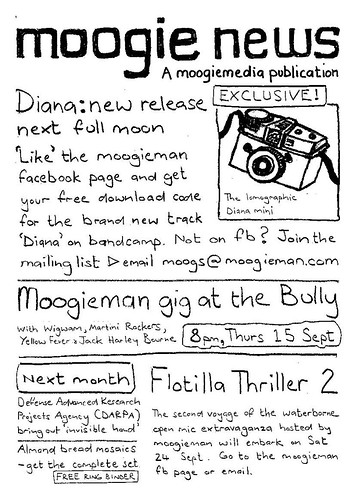 Moogie News, Sept 2011