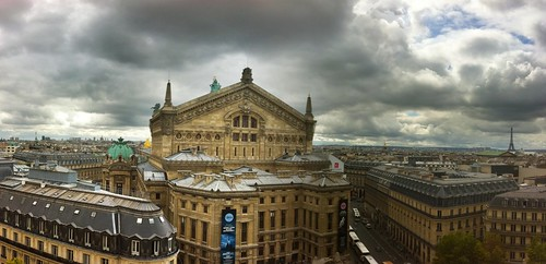 Paris Panorama by stevegarfield