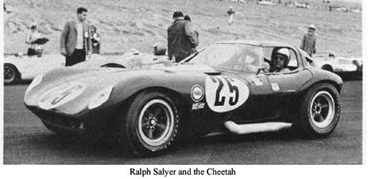 Ralph Salyer abd the Cheetah
