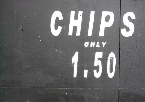 Chips only 1.50 by Dan Chamberlain