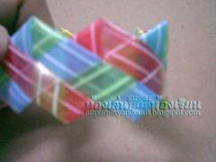 สานกำไลจากวัสดุใช้แล้ว  กำไลหลอดกาแฟ woven bracelet