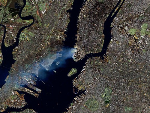 September 11 from space (NASA/Government Image)
