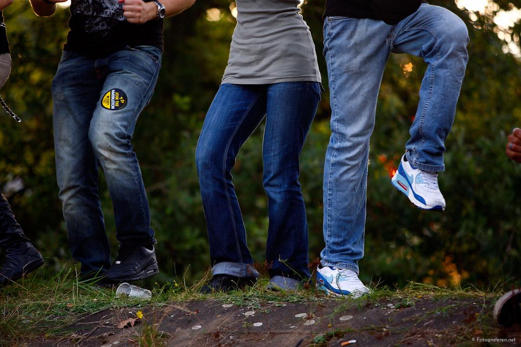 Dancing jeans!